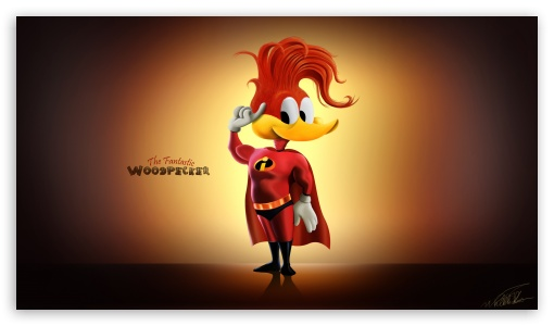 Woody Woodpecker HD wallpaper for HD 16:9 High Definition WQHD QWXGA 1080p 900p 720p QHD nHD ; Tablet 1:1 ; iPad 1/2/Mini ; Mobile 4:3 5:3 3:2 16:9 - UXGA XGA SVGA WGA DVGA HVGA HQVGA devices ( Apple PowerBook G4 iPhone 4 3G 3GS iPod Touch ) WQHD QWXGA 1080p 900p 720p QHD nHD ;