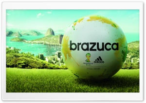 World Cup 2014 Ball HD Wide Wallpaper for Widescreen