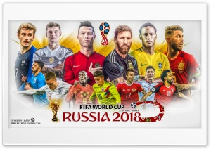 WORLD CUP 2018 HD Wide Wallpaper for 4K UHD Widescreen desktop & smartphone