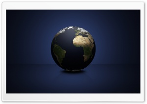 World Globe HD Wide Wallpaper for Widescreen