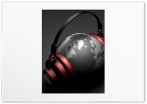 World Is Music HD Wide Wallpaper for Widescreen