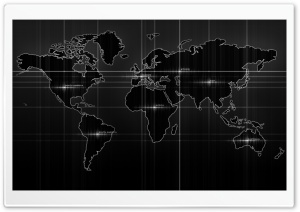 World Map HD Wide Wallpaper for Widescreen