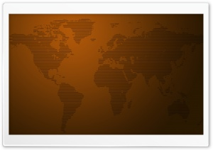 World Map Stripes HD Wide Wallpaper for Widescreen