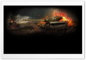 World of Tanks HD Wide Wallpaper for Widescreen