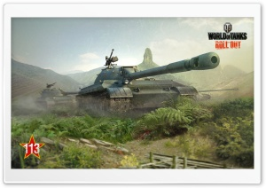 World of Tanks 113 HD Wide Wallpaper for Widescreen