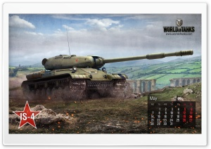 World of tanks: tank IS-4 HD Wide Wallpaper for Widescreen