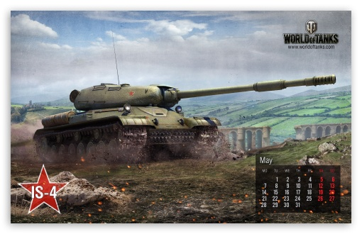 World of tanks: tank IS-4 HD wallpaper for Wide 16:10 5:3 Widescreen WHXGA WQXGA WUXGA WXGA WGA ; Mobile 5:3 - WGA ;