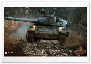 World Of Tanks AMX 30B HD Wide Wallpaper for 4K UHD Widescreen desktop & smartphone