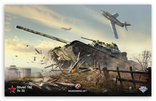 Download World of Tanks Object 140 UltraHD Wallpaper