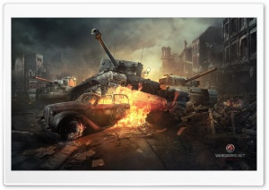 WORLD OF TANKS ONLINE GAME HD Wide Wallpaper for Widescreen