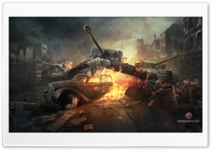 World of Tanks Online Game HD Wide Wallpaper for 4K UHD Widescreen desktop & smartphone