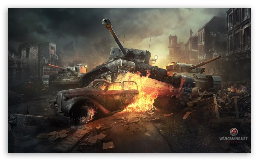 World of Tanks Online Game HD wallpaper for Wide 5:3 Widescreen WGA ; HD 16:9 High Definition WQHD QWXGA 1080p 900p 720p QHD nHD ; Mobile 5:3 16:9 - WGA WQHD QWXGA 1080p 900p 720p QHD nHD ;
