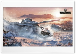 World of Tanks STB-1 HD Wide Wallpaper for 4K UHD Widescreen desktop & smartphone