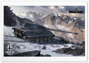 World of Tanks Tiger 2 HD Wide Wallpaper for 4K UHD Widescreen desktop & smartphone