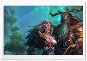 World Of Warcraft HD Wide Wallpaper for Widescreen