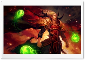 World of Warcraft Blood Elf HD Wide Wallpaper for Widescreen