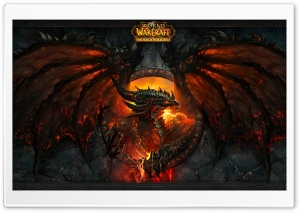 World Of Warcraft Cataclysm HD Wide Wallpaper for Widescreen