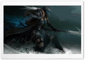 World Of Warcraft Death Knight HD Wide Wallpaper for Widescreen