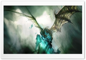 World Of Warcraft Dragon HD Wide Wallpaper for Widescreen