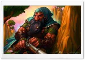 World Of Warcraft Dwarf HD Wide Wallpaper for Widescreen