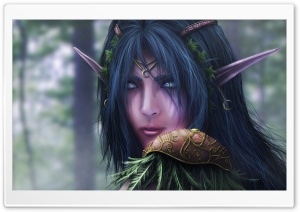 World Of Warcraft Elf HD Wide Wallpaper for Widescreen