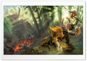 World Of Warcraft Fan Art HD Wide Wallpaper for Widescreen