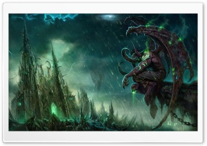 World Of Warcraft Trading Card Game HD Wide Wallpaper for Widescreen