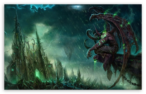 World Of Warcraft Trading Card Game Ultra Hd Desktop Background