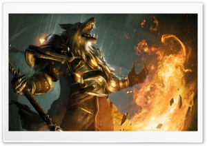 World Of Warcraft Worgen HD Wide Wallpaper for Widescreen