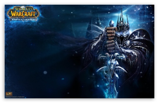 World Of Warcraft, Wrath Of The Lich King HD wallpaper for Wide 16:10 Widescreen WHXGA WQXGA WUXGA WXGA ; Standard 3:2 Fullscreen DVGA HVGA HQVGA devices ( Apple PowerBook G4 iPhone 4 3G 3GS iPod Touch ) ; Mobile 3:2 - DVGA HVGA HQVGA devices ( Apple PowerBook G4 iPhone 4 3G 3GS iPod Touch ) ;