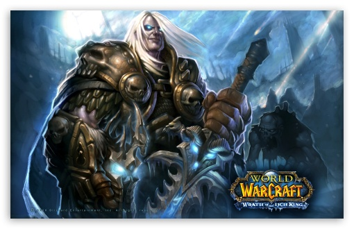 World Of Warcraft, Wrath Of The Lich King HD wallpaper for Standard 4:3 Fullscreen UXGA XGA SVGA ; Wide 16:10 5:3 Widescreen WHXGA WQXGA WUXGA WXGA WGA ; Other 3:2 DVGA HVGA HQVGA devices ( Apple PowerBook G4 iPhone 4 3G 3GS iPod Touch ) ; Mobile VGA WVGA iPhone iPad - VGA QVGA Smartphone ( PocketPC GPS iPod Zune BlackBerry HTC Samsung LG Nokia Eten Asus ) WVGA WQVGA Smartphone ( HTC Samsung Sony Ericsson LG Vertu MIO ) HVGA Smartphone ( Apple iPhone iPod BlackBerry HTC Samsung Nokia ) ;