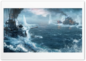 World Of Warship Ships HD Wide Wallpaper for Widescreen