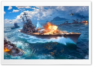 World Of Warships HD Wide Wallpaper for Widescreen