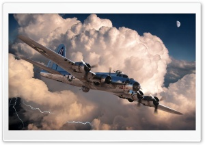 World War 2 Plane HD Wide Wallpaper for Widescreen