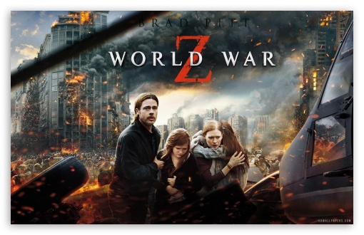 World War Z Movie HD Wallpaper 4K HD Desktop Wallpaper For