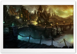 WOW Cataclysm Artwork HD Wide Wallpaper for Widescreen