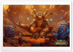 WOW Druid HD Wide Wallpaper for Widescreen