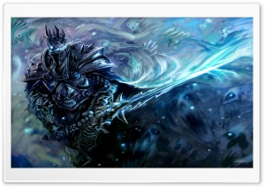 WOW Lich King Ultra HD Wallpaper for 4K UHD Widescreen desktop, tablet & smartphone