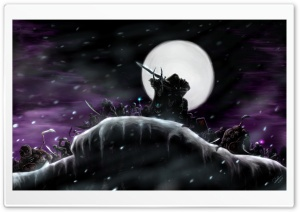 WOW Return Of The Lich King HD Wide Wallpaper for Widescreen