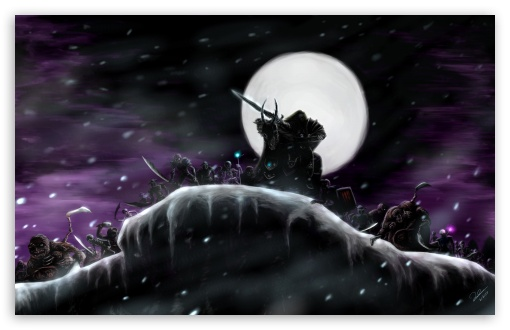 WOW Return Of The Lich King HD wallpaper for Wide 16:10 5:3 Widescreen WHXGA WQXGA WUXGA WXGA WGA ; HD 16:9 High Definition WQHD QWXGA 1080p 900p 720p QHD nHD ; Mobile 5:3 16:9 - WGA WQHD QWXGA 1080p 900p 720p QHD nHD ;