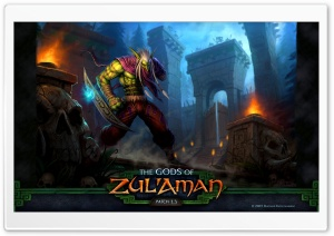 WOW The Gods Of Zul'Aman HD Wide Wallpaper for Widescreen