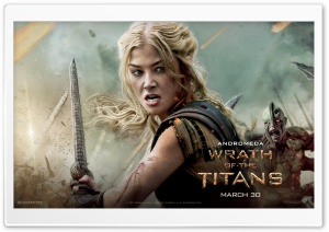 Wrath Of The Titans Andromeda HD Wide Wallpaper for Widescreen