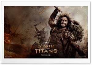 Wrath Of The Titans Ares HD Wide Wallpaper for Widescreen