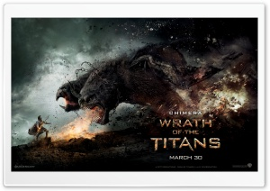 Wrath Of The Titans Chimera HD Wide Wallpaper for Widescreen
