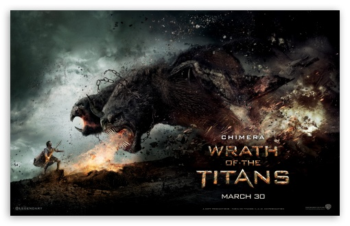 Wrath Of The Titans Chimera HD wallpaper for Wide 16:10 5:3 Widescreen WHXGA WQXGA WUXGA WXGA WGA ; HD 16:9 High Definition WQHD QWXGA 1080p 900p 720p QHD nHD ; Standard 4:3 5:4 Fullscreen UXGA XGA SVGA QSXGA SXGA ; iPad 1/2/Mini ; Mobile 4:3 5:3 5:4 - UXGA XGA SVGA WGA QSXGA SXGA ;
