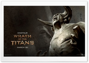 Wrath Of The Titans Minotaur HD Wide Wallpaper for 4K UHD Widescreen desktop & smartphone