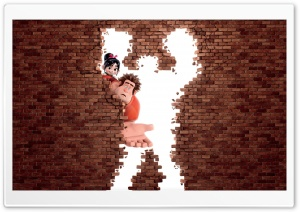 Wreck It Ralph Animation Movie HD Wide Wallpaper for Widescreen