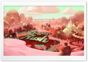 Wreck It Ralph Sugar Rush Game HD Wide Wallpaper for Widescreen