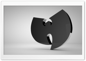 Wu-Tang Logo HD Wide Wallpaper for Widescreen