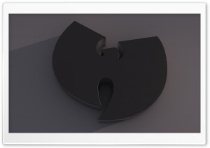 Wu-Tang Logo Dark HD Wide Wallpaper for Widescreen